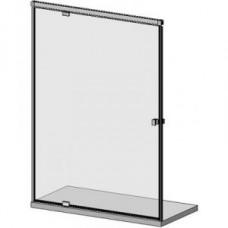 SLASH D05E 30 hidraulikus csukódású üvegajtóból álló zuhanyfal