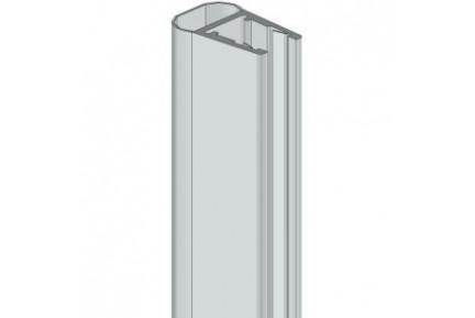 8PT1-10 műanyag vízzáró profil zuhanykabinokhoz