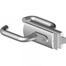 Flexa 6410 üvegajtó zár (kulcs-kulcs kivitel)