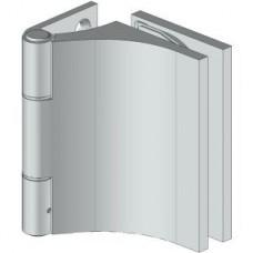 8667 extra széles falcba építhető, egyirányba nyíló, fal-üveg, üvegajtó oldalpánt