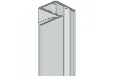 8PT8-40 műanyag vízzáró profil zuhanykabinokhoz