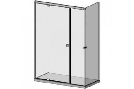 SLASH rejtett rögzítésű hidraulikus zuhanykabin rendszer (6)