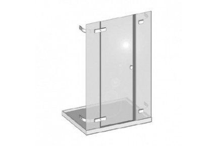 ALA nyílóajtós zuhanykabin rendszer