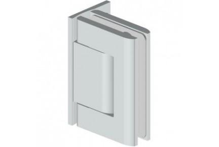 Biloba 8011 asszimetrikus talpalású, mindkét irányba nyíló, fal-üveg, hidraulikus üvegajtó oldalzsanér