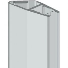 8PT8-60-61 mágneses, műanyag vízzáró profil zuhanykabinokhoz