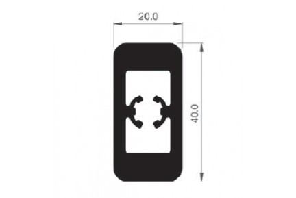 Barandilla üvegkorlát korlátoszlop BAR-8516