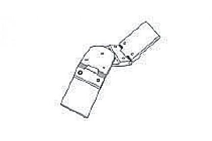 Barandilla üvegkorlát kézfogó triplacsuklós sarokelem BAR-908512