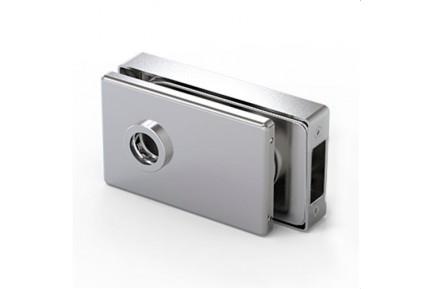 LOQ 683W01 M mágnes vezérelt, szögletes formájú, üvegajtó kilincstest  (az alaptest és a borító külön vásárolható)