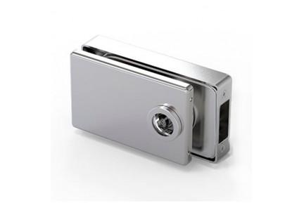 LOQ 683W02 M mágnes vezérelt, szögletes formájú, üvegajtó kilincstest  (az alaptest és a borító külön vásárolható)