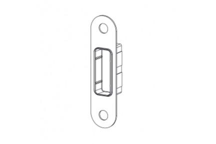 LOQ 0683W11 MGR falra szerelhető zárellendarab mágnes vezérelt zárakhoz (az alaptest és a borító külön vásárolható)
