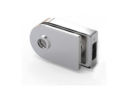 LOQ 684W01 M mágnes vezérelt, íves formájú,  üvegajtó kilincstest (az alaptest és a borító külön vásárolható)