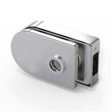 LOQ 684W02 M mágnes vezérelt, íves formájú,  üvegajtó kilincstest