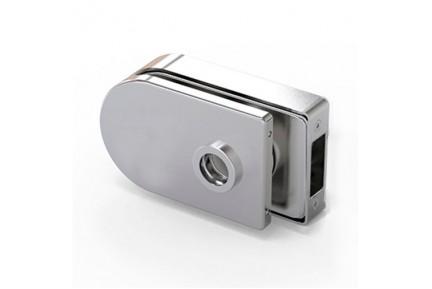 LOQ 684W02 M mágnes vezérelt, íves formájú,  üvegajtó kilincstest (az alaptest és a borító külön vásárolható)