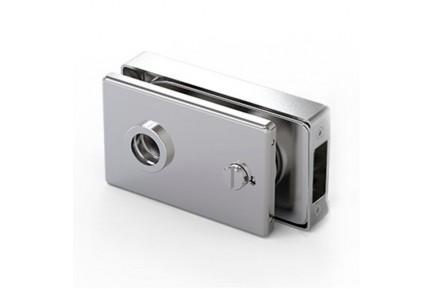 LOQ 685W30 M mágnes vezérelt, szögletes formájú, kilincses, üvegajtó toalettzár (az alaptest és a borító külön vásárolható)