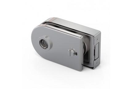 LOQ 686W30 M mágnes vezérelt, íves formájú, kilincses, üvegajtó toalettzár (az alaptest és a borító külön vásárolható)