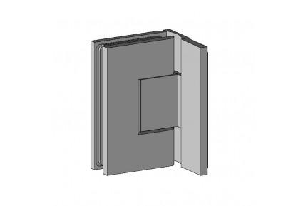 QUB 855W1R állítható zuhanykabin oldalzsanér