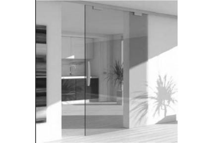 SLAK2 keret nélküli, üveg tolóajtó rendszer (6)