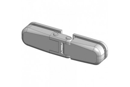 Bilobina 815E 50N üveg-üveg, hidraulikus, zuhanyajtó-zsanér