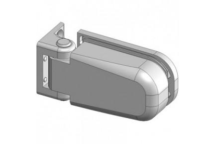 Bilobina 815E 10N fal-üveg, hidraulikus, zuhanyajtó-zsanér