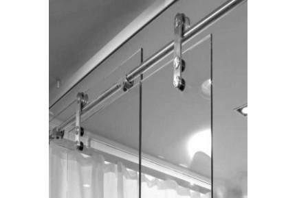 INOX Slide pontmegfogásos, rozsdamentes acélból készült tolóajtó rendszer  (0)