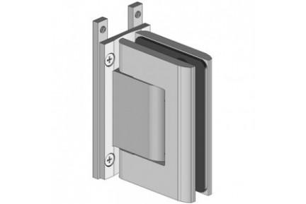 Biloba 8066 ESPRO rendszerhez adaptált, mindkét irányba nyíló, fal-üveg, hidraulikus üvegajtó oldalzsanér