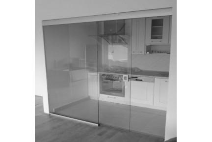 SLAK keret nélküli, üveg tolóajtó rendszer (7)