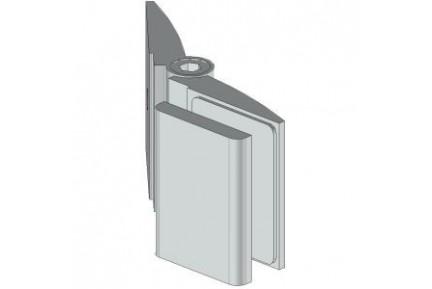 4428 kisméretű, állítható szögű, fal-üveg, zuhanykabin rögzítő elem