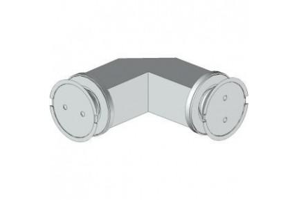 4Q20 pontmegfogásos, üveg-üveg, zuhanykabin rögzítő elem