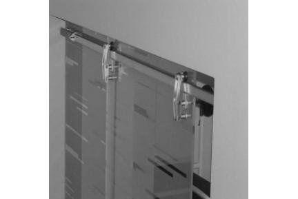 NEUS Corre pontmegfogásos, keret nélküli tolóajtó rendszer (1)