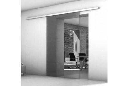 FLO keskeny sínes, keret nélküli, üveg tolóajtó rendszer (10)