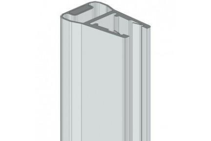 8PT8-50 mágneses műanyag vízzáró profil zuhanykabinokhoz