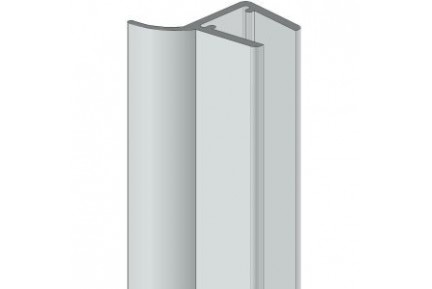 8PT8-20 műanyag vízzáró profil zuhanykabinokhoz