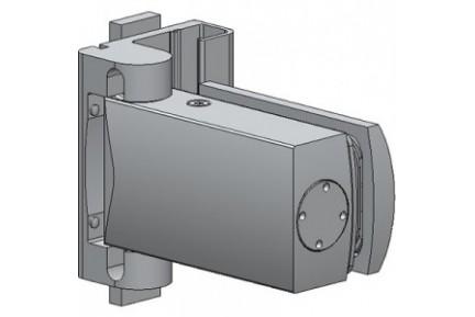 Biloba 8061 ESPRO rendszerhez adaptált, egyirányba nyíló, hidraulikus üvegajtó oldalzsanér