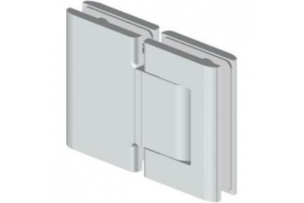 Biloba 8015 mindkét irányba nyíló, üveg-üveg, hidraulikus, üvegajtó oldalzsanér