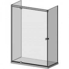 SLASH D05E 60 három üveg oldalú, hidraulikus csukódású zuhanykabin